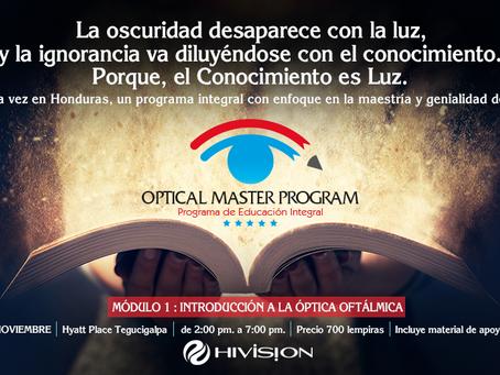 OPTICAL MASTER PROGRAM - PROGRAMA DE EDUCACIÓN INTEGRAL