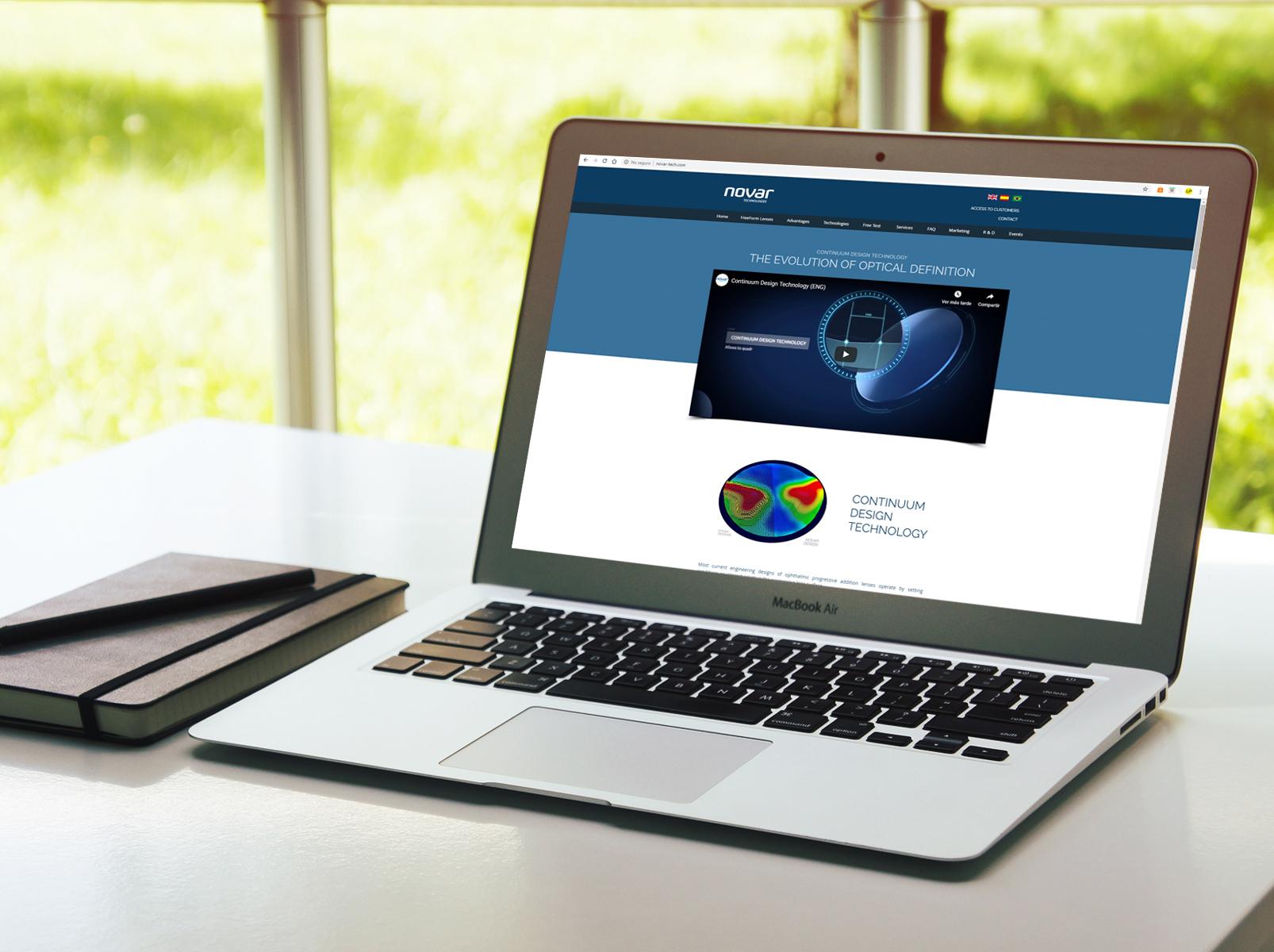 Novar-tech | Sitio web