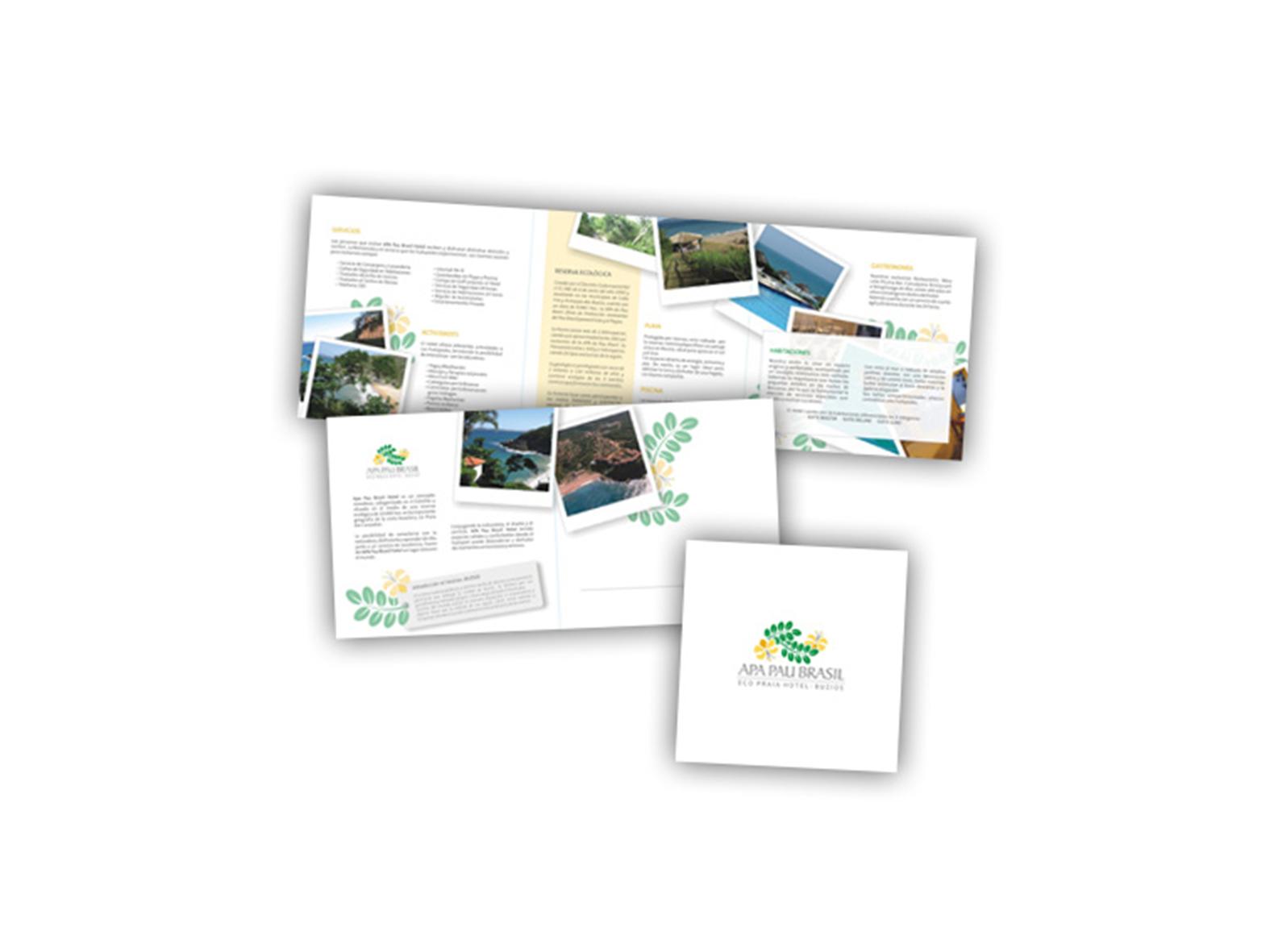 Apa Pau Brasil | Brochure