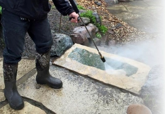 Power Washing Steps