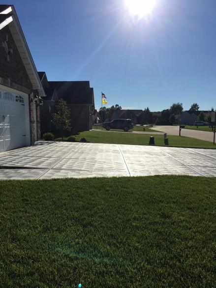 Sealed Driveway