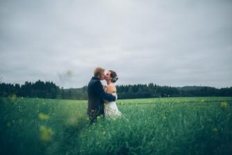 Hääkuvaus Ani ja James Villa Smeds - Vantaa