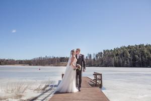 Hääkuvaus Jessika ja Jarno Sarfvik - Kirkkonummi