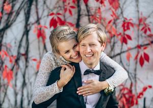Hääkuvaus Salli ja Tomi Satakielisali - Espoo