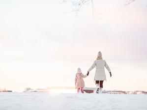 Äiti-lapsikuvaus Tervasaaressa - Helsinki