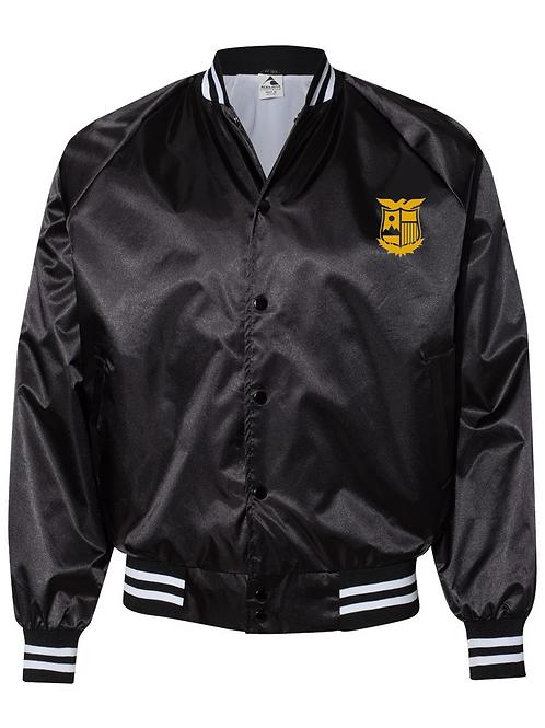 Sportswear Satin Baseball Jacket