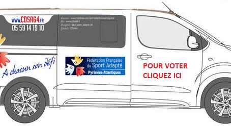 Budget participatif: aidez nous à financer un minibus
