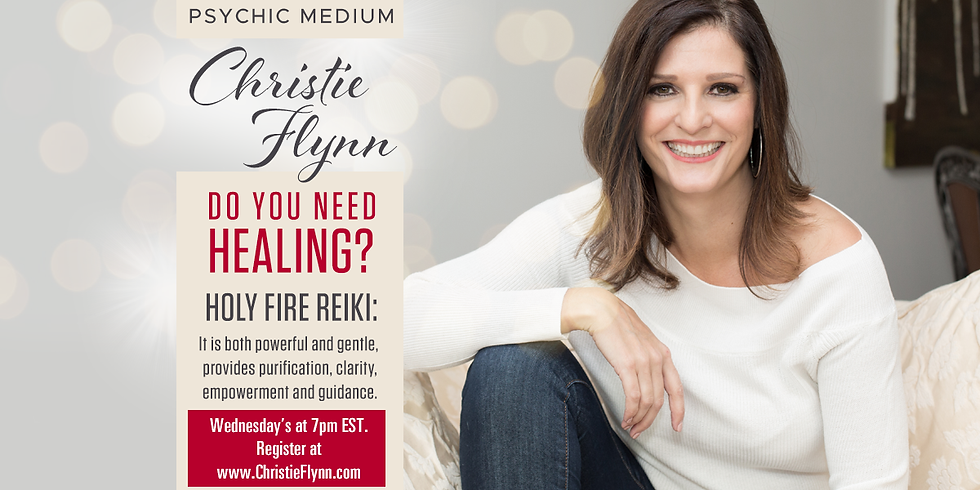 Usui Holy Fire Reiki Healing Session - Drop-In Healing Session