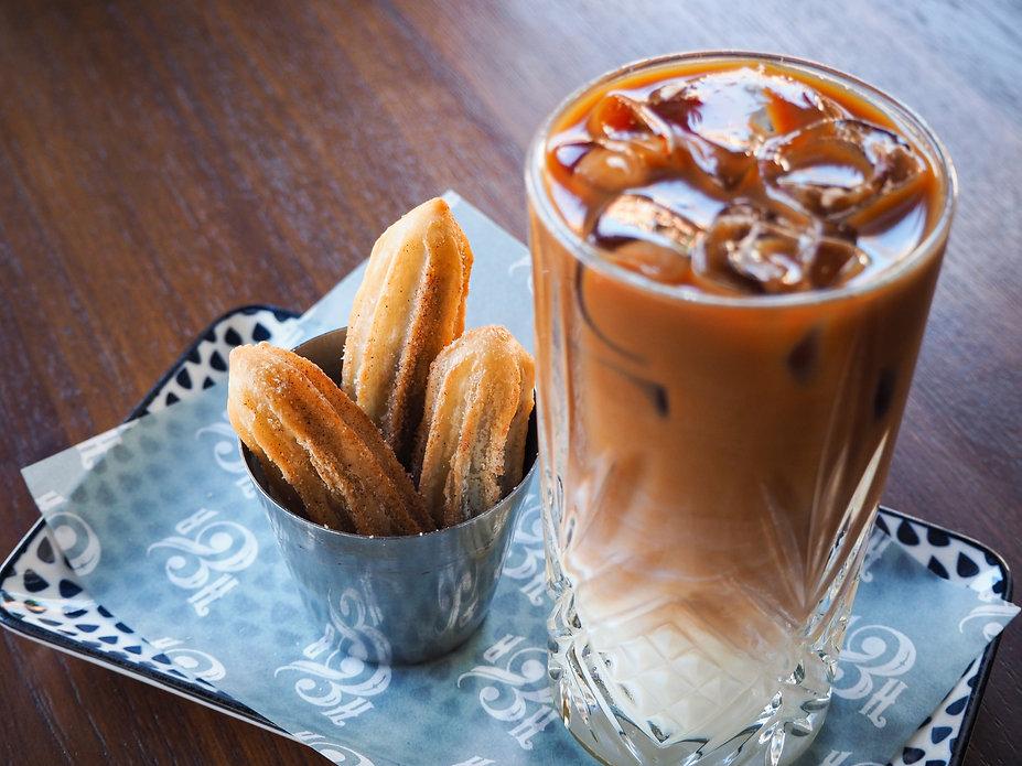Churros and Coffee. Heno & Rey Perth CBD