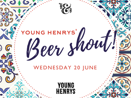 Young Henrys' Beer Shout