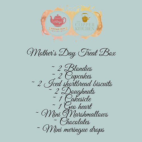 COLLECTION SATURDAY 13th ONLY - Mother's Day treat box