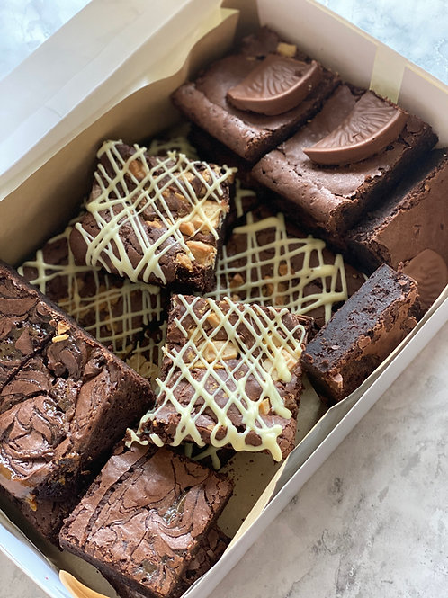 Brownie box - DELIVERY SATURDAY 5th Dec OR collect from NN4