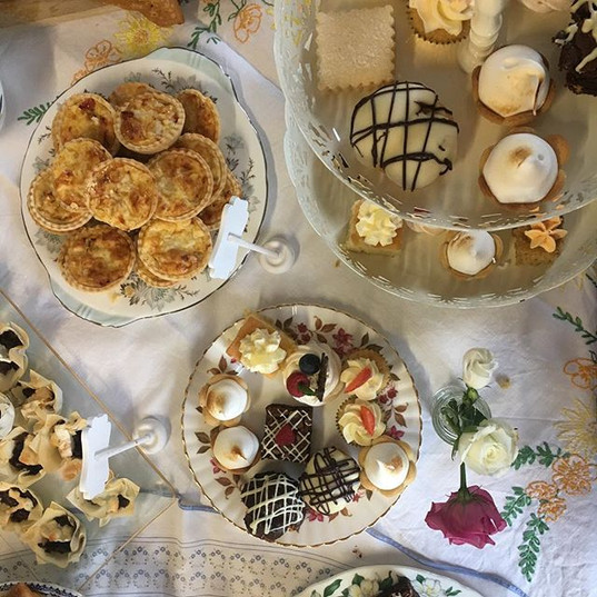 Vintage afternoon tea selection - The Copper Kitchen