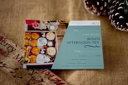 Afternoon Tea Box for 1 Gift Voucher