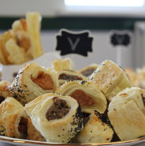 Sausage Rolls at The Copper Kitchen Northampton