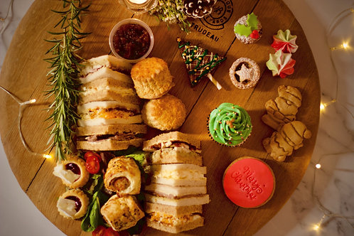 Christmas Afternoon Tea Box for 2 - Delivery OR Collect from NN4