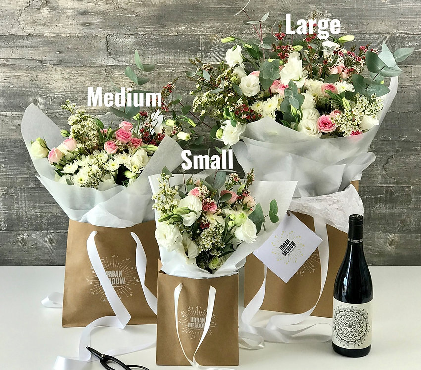 Small, Medium & Large Flowers by Urban Meadow