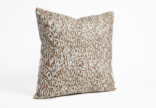 Decorative Pillow - Gravel Gold