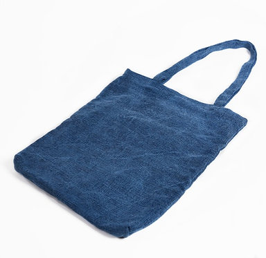 F&S Tote - Washed Blue