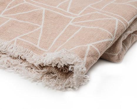 Linen Blanket - Pavement (Stone)
