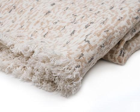 Linen Blanket - Gravel (Stone)
