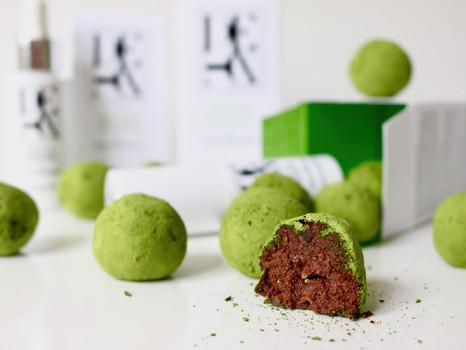 Matcha Energie Kugeln - Gesunder Snack für Zwischendurch