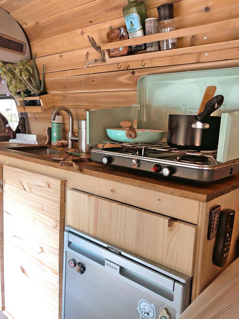 van kitchen