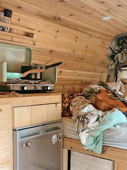 camper van interior