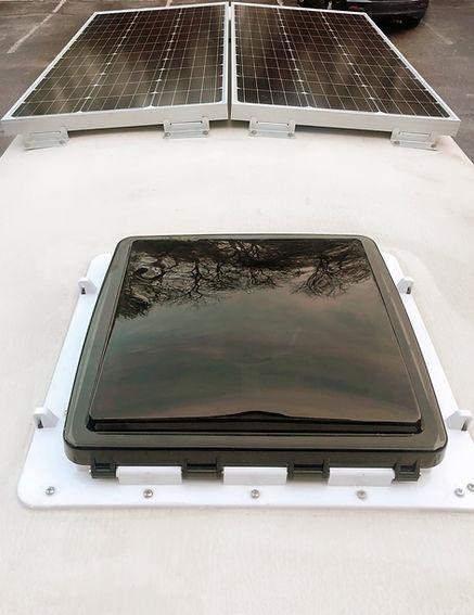 maxx air fan, 200 watt solar panels
