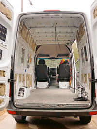 Sprinter Interior before