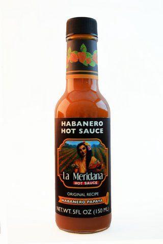 Habanero papaya sauce