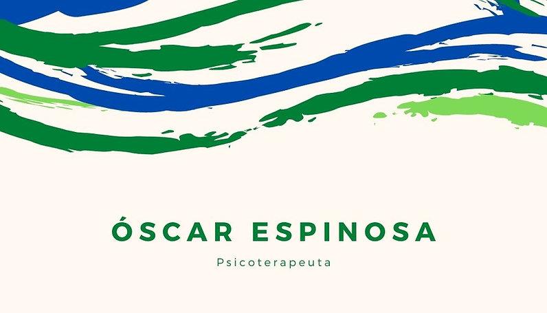 Psicoterapeuta Óscar Espinosa