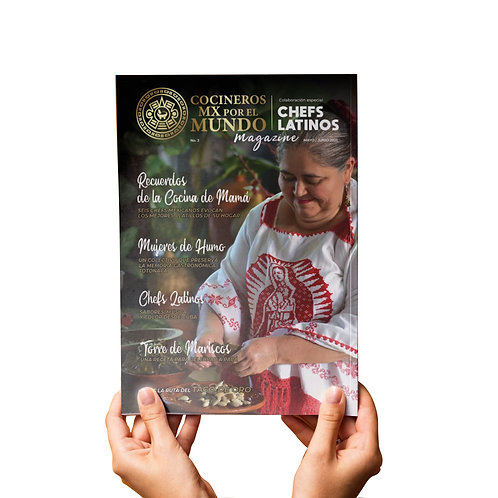 Chefs Latinos Magazine
