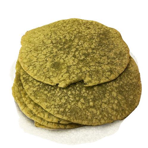 Kale Flour Tortilla