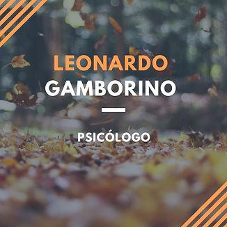 Psicólogo Leonardo Gamborino