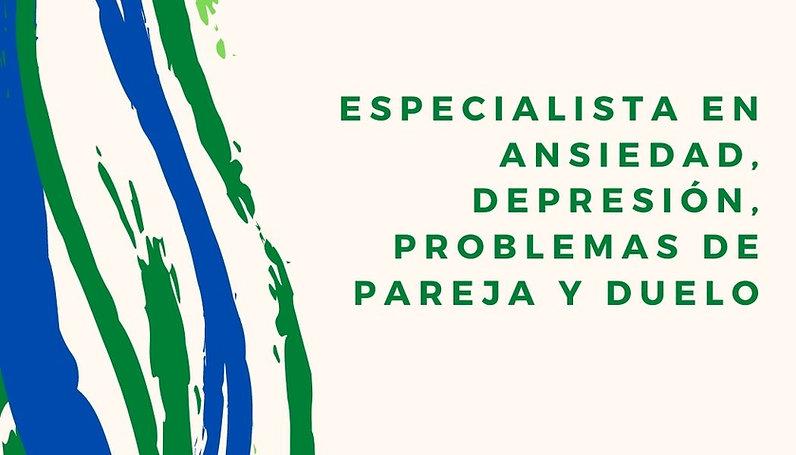 Psicoterapeuta Óscar Espinosa. Especialista en ansiedad, depresión, problemas de pareja y duelo