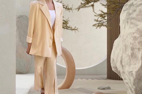 Donna Blazer & Pants Set