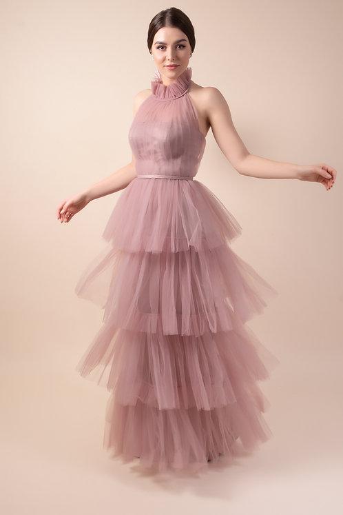 Blush Layered Dress