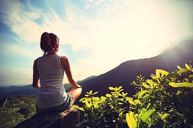 méditation randonnée ile de la réunion