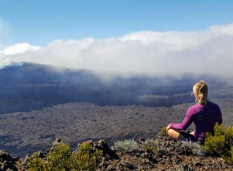 Rando-méditation au Volcan