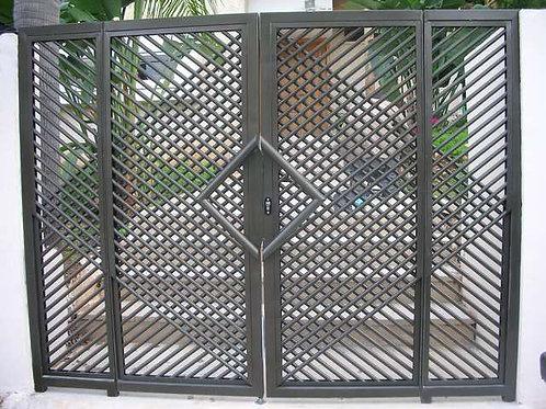 שער מתכת לבית פרטי
