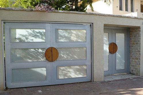 שער חשמלי דקורטיבי לבית