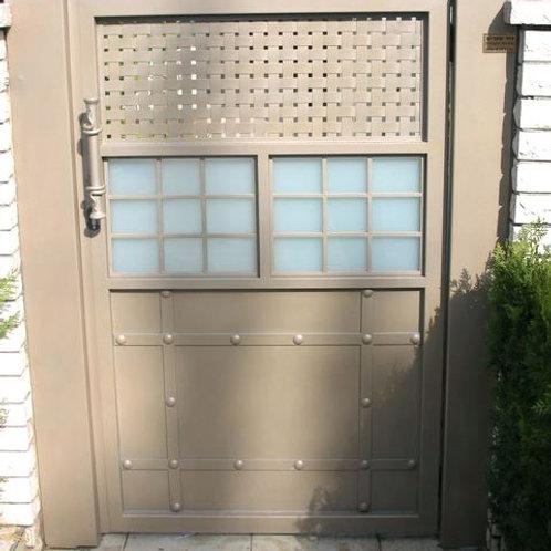 שער זכוכית לבית