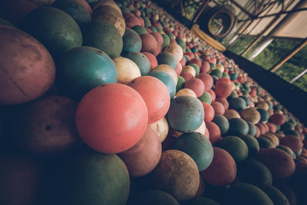 Dream of colorful bubble