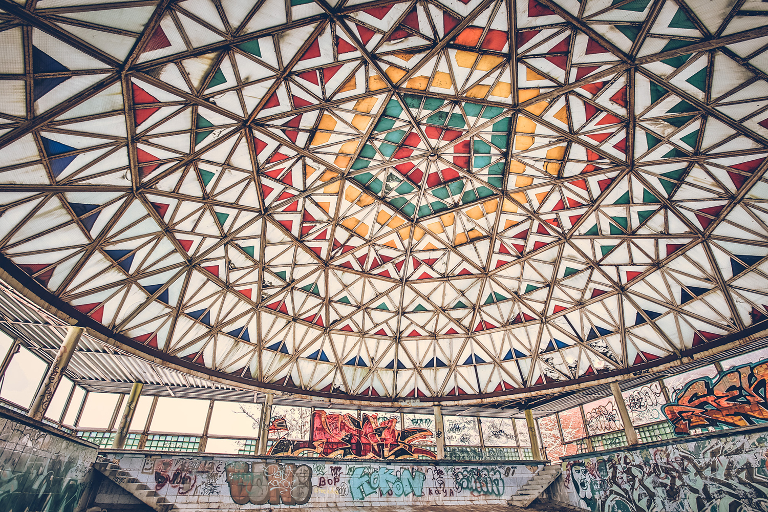 The Abandoned Kaleidoscope Pool