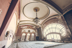 The abandoned casino of Constanta