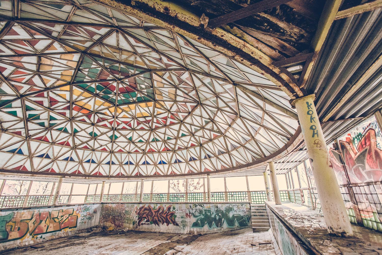 The Abandoned Kaleidoscope Pool