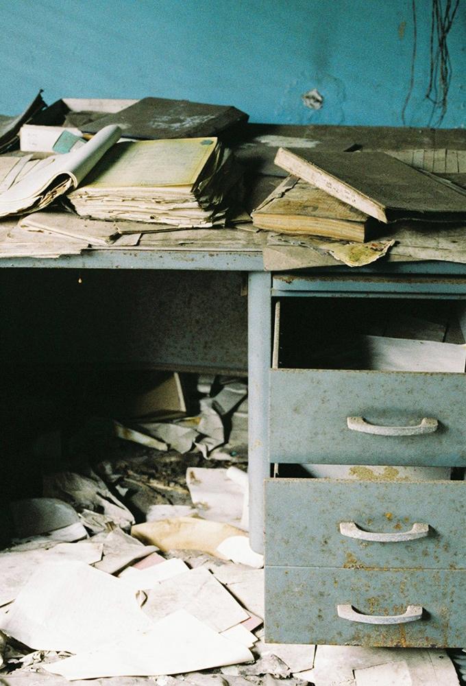 Abandoned US military base