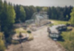 An Abandoned Amusement Park in Elektrenai, Lithuania.
