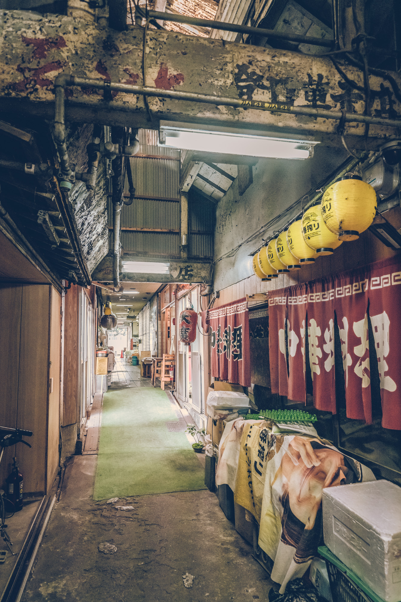 The Tsubakii Market in Japan